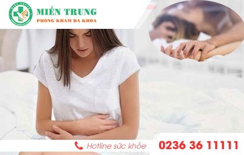 Phương pháp điều trị đau rát khi quan hệ ở nữ nhanh chóng - hiệu quả